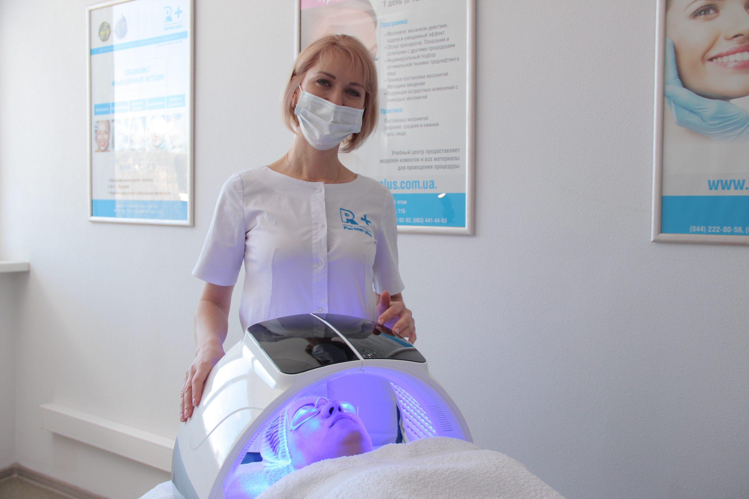 Терапия дефектов кожи