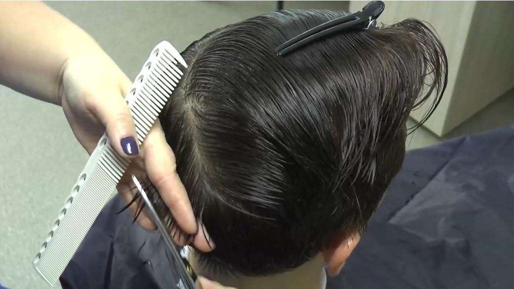 Дистанционный курс «Трендовая мужская стрижка Помпадур»